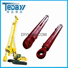 Rotary Joint Hydraulic Cylinder with