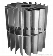 Ap Alloy Foundry Customized Manufacturer Precision Casting Vacuum Pump Impeller