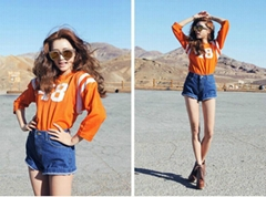 2016 Women Denim shorts cotton jeans  wholesale