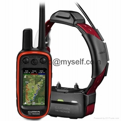 GARMIN Alpha 100 and Burgundy TT 15 Dog Tracking and Training Bundle