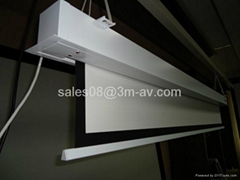 In-ceiling projection sc