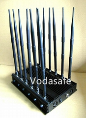 WiFi  4G Jammers UHF VHF Jammers  2g 3G Remote Control Audio jammer