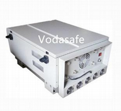 800Watt very high power prison jammer with cooling fan system for 3g 4G GPS AMPS