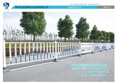 常规横杆防眩光护栏及广告板