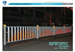 新型菱形防眩光护栏