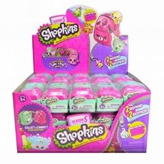 Shopkins SEASON 5 Blind Basket 2 Packs with BackPack Case of 30 Total 60 Shopkin