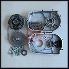 ATV Go Kart Spare Parts 1/2 Reduction Clutch Kart Gearbox Gx200 Gx160 Gx270 Kart