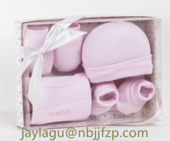 4PCS NEW BORN BABY GIFT SET
