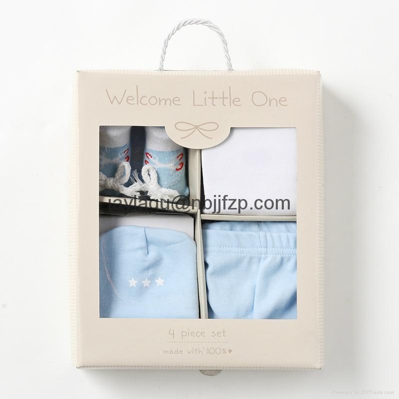 4pcs Newborn baby  gift box 2