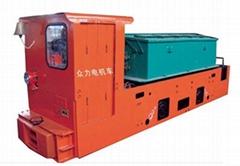 供应8吨电瓶车厂家 8吨电瓶车报价 8吨蓄电池式电机车