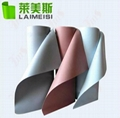 Adhesive backed heat resistant high