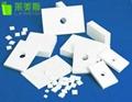 High precision white insulating 95% alumina Ceramic 2