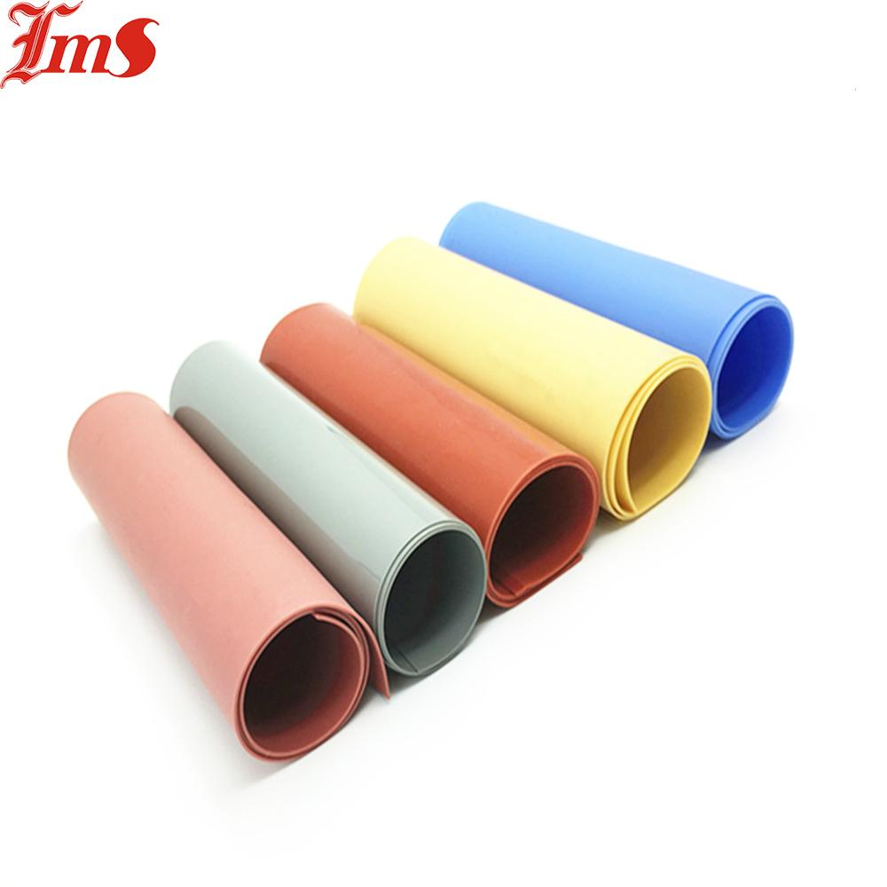 LaimeisAdhesive Backed Anti-Slip High Temperature Colorful Silicone Rubber Sheet 1