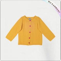 Baby Yellow Gardigan