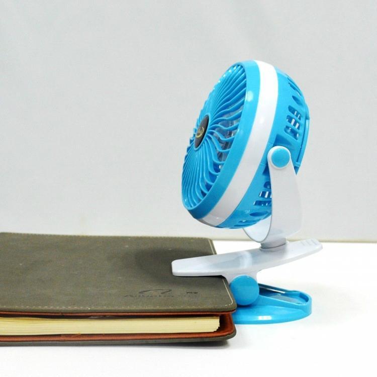Hot selling USB rechargebale battery baby stroller clip on fan 5