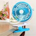 Hot selling USB rechargebale battery baby stroller clip on fan 2