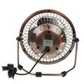 New products 2016 USB air cooler bronze meatl antique copper fan usb desk fan 2