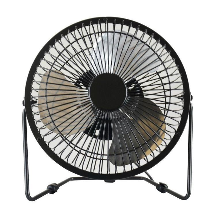 New products 2016 USB air cooler bronze meatl antique copper fan usb desk fan 4