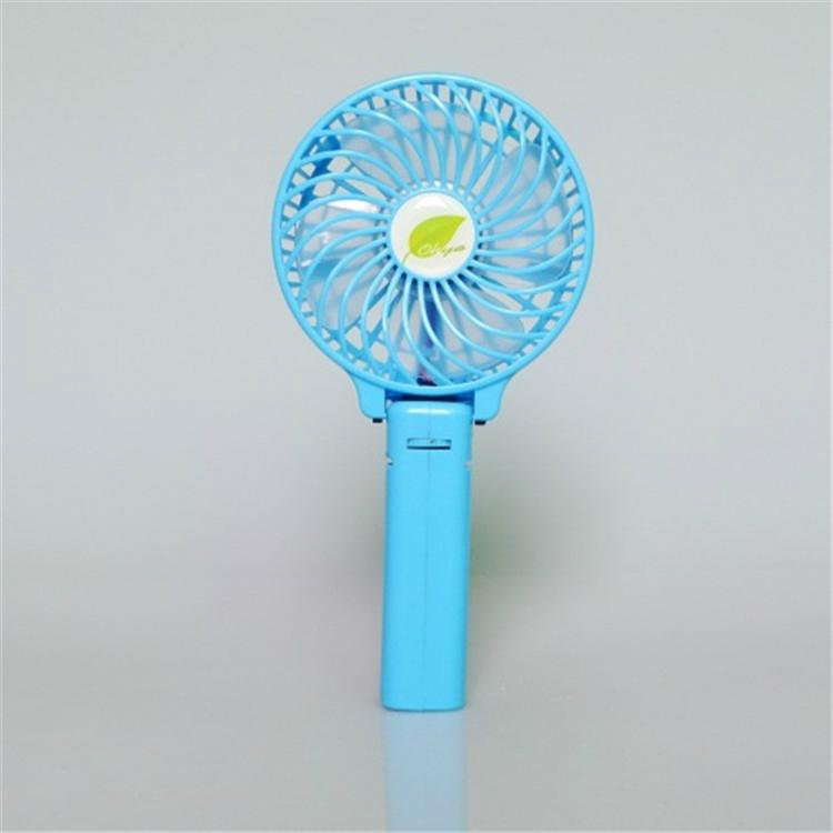 Mini battery operated cooling fan handheld personal foldable fans for travel 4