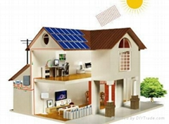 Roof mounting home high efficient 300W Solar System