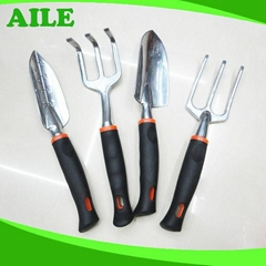 Garden Hand Tool Set With PP+TPR Handle