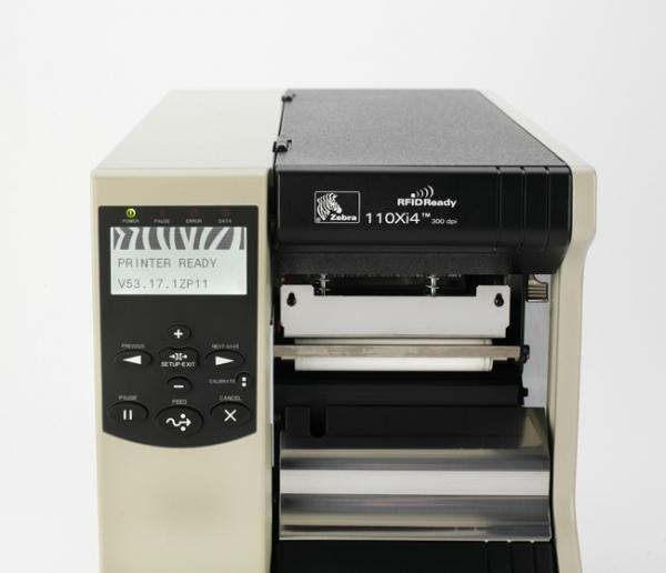 供應廈斑馬ZEBRA 110XI4 600dpi 工業型條碼打印機 3