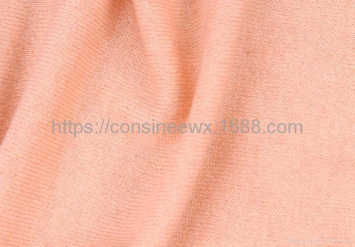 康賽妮工廠批發高檔粗紡純羊絨14針機織色紗 5