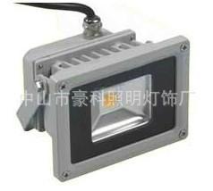 豪科10WLED氾光燈 LED大功率集成投光燈 足瓦質保3年