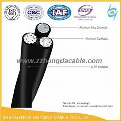 全鋁合金架空傳輸線電力電纜