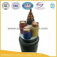 0.6/1KV耐火低煙無鹵環保電力電纜