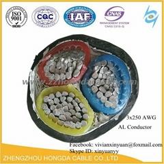 NA2XY, 0.6/1kv Aluminium XLPE Insulated