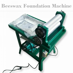 Product name : Electric Beeswax  comb foundation machine(195*86mm)