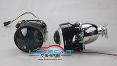 Bi-xenon H/L projector lens