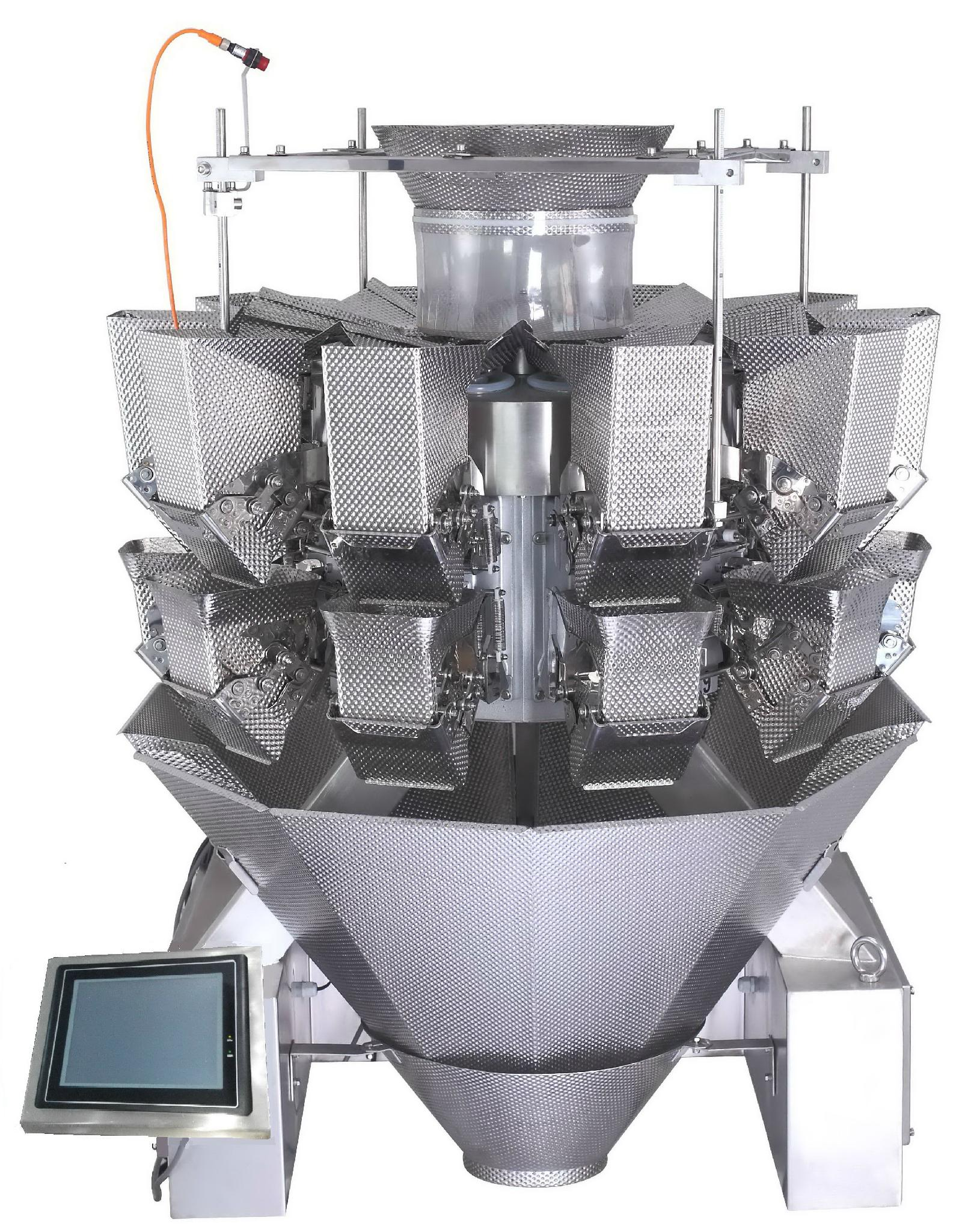automatic sticky products double door  multihead weigher 1