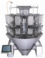 automatic sticky products double door  multihead weigher