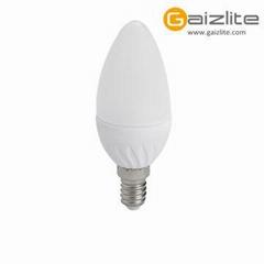 LED Candle 6.5W E14 170-265v energ saving home lighting