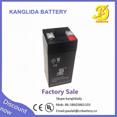 Electronic scales  player  4v4.5 sealed lead   acid battery