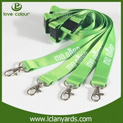 Fashion Style Polyester Material Customised Neck Strap Lanyards