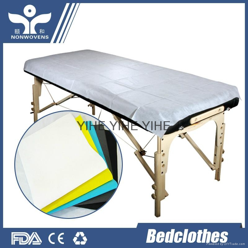 Disposable bed sheet bedspread 3
