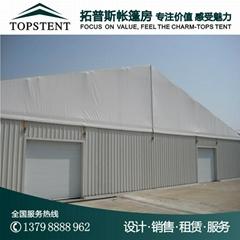 大型铝合金仓储帐篷
