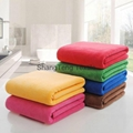 Popular Quick drying bath towels for wholesales pink color