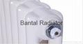 Elliptical steel tube radiator for