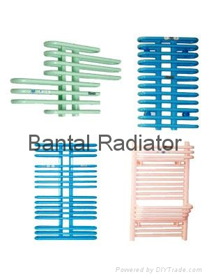 Bathroom radiator for central water heating with towel rack GGZHC  5