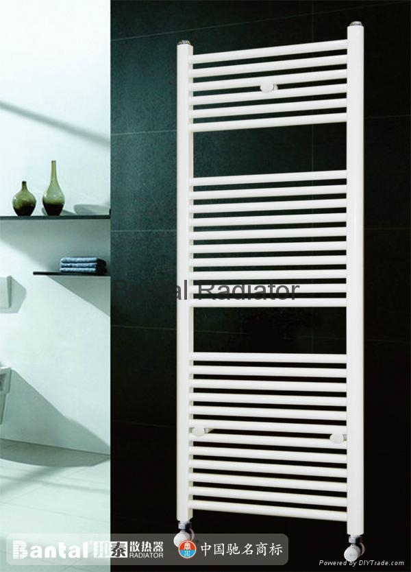 Bathroom radiator for central water heating with towel rack GGZHC  4