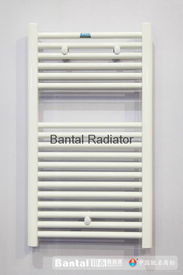 Bathroom radiator for central water heating with towel rack GGZHC  3