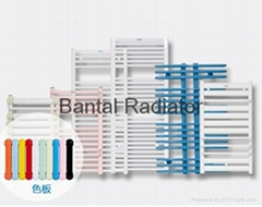 Bathroom radiator for central water heating with towel rack GGZHC