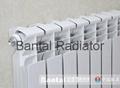 Bimetellic central heating radiator