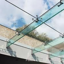 Customized SGP laminated glass roof