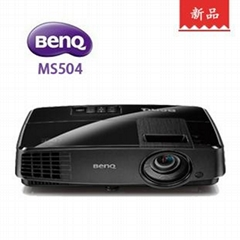 明基MS504投影机 3000流明3D高清1080P投影仪家用商教便携