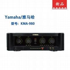 雅马哈 KMA-980 卡拉OK专业功放机